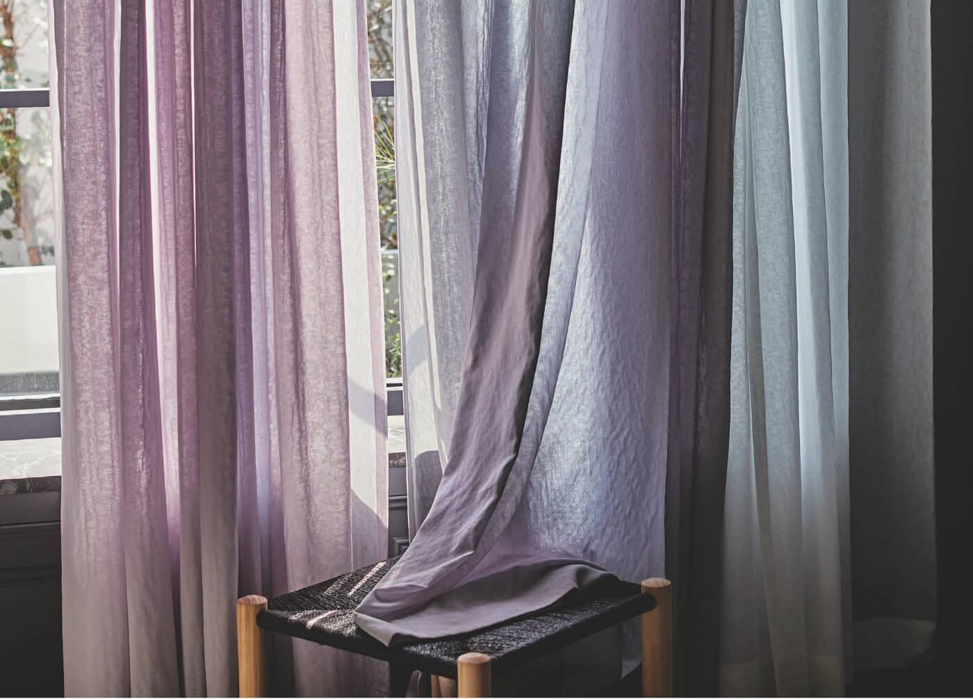 種類豊富なオリジナル生地からあなただけのカーテンを