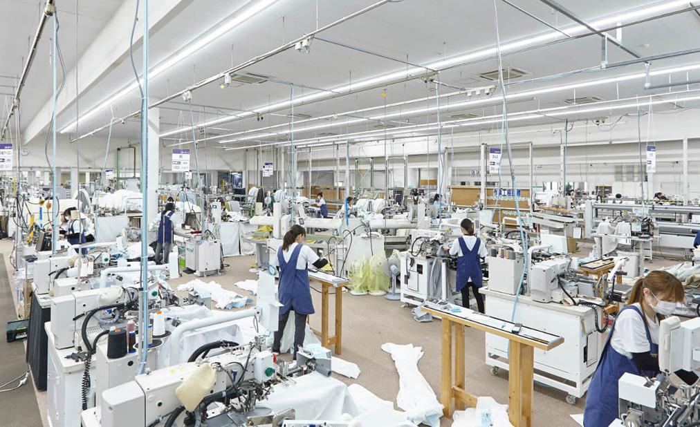 ディマンシェの歴史と積み重ねた技術が光る自社縫製工場