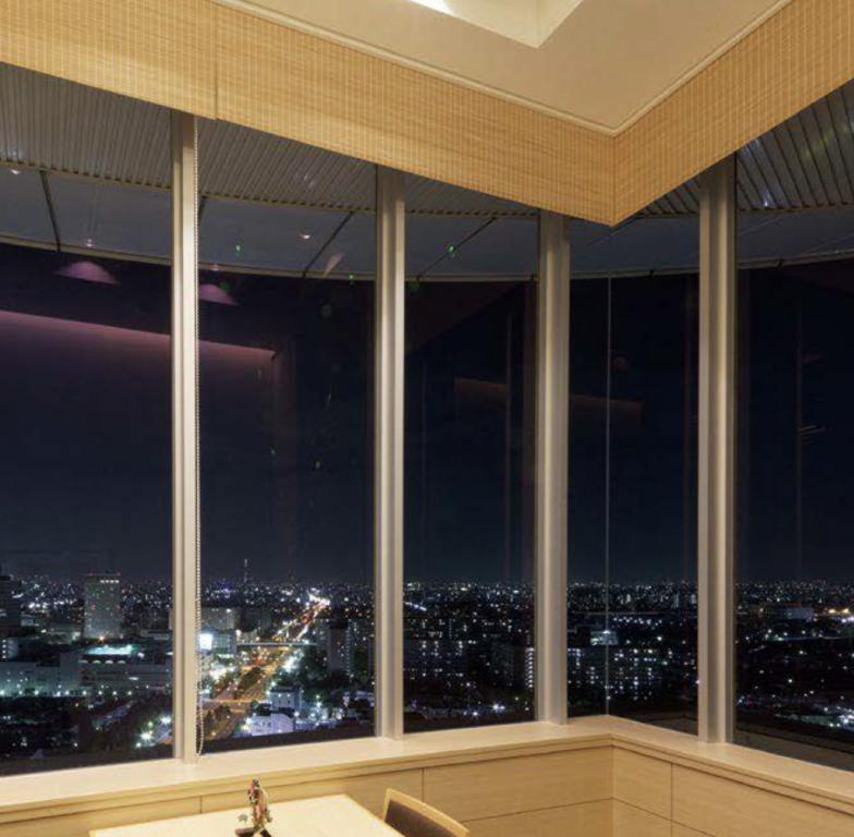 例:高層階のお部屋に