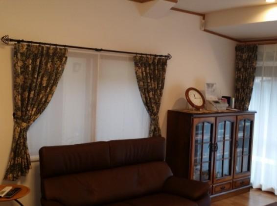 ジャガード織カーテンのクラシックスタイル