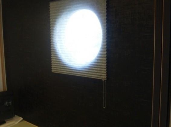 モダンな空間を演出!スッキリさせながら調光もできます。